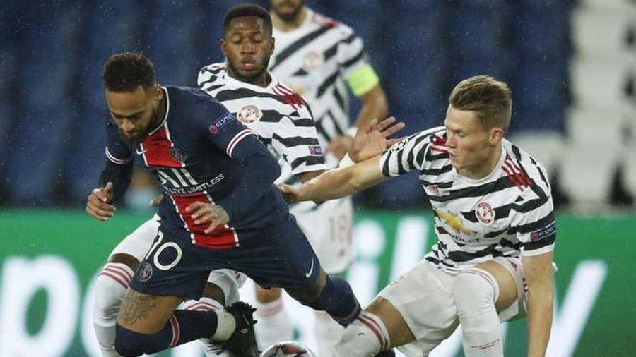 Lịch thi đấu lượt thứ 5 vòng bảng Cúp C1 2020/21: MU vs PSG