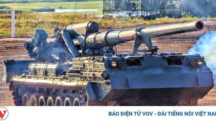 Pháo tự hành chết chóc nhất thế giới 'Malka' sẽ được trang bị đạn thế hệ mới