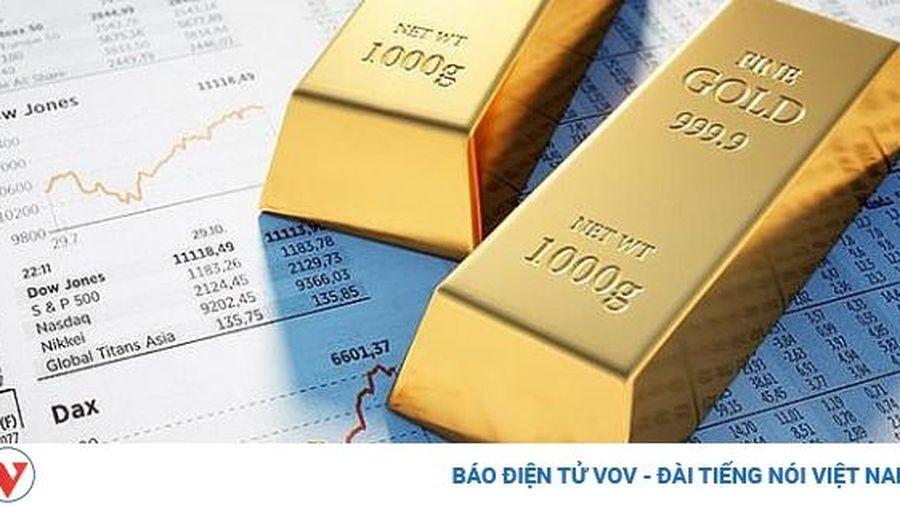 Giá vàng thế giới tiếp tục giảm khi nhà đầu tư có tâm lý lạc quan về triển vọng kinh tế