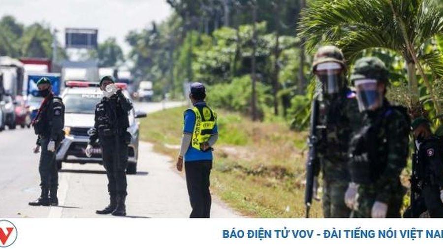 Thái Lan thắt chặt an ninh biên giới với Myanmar