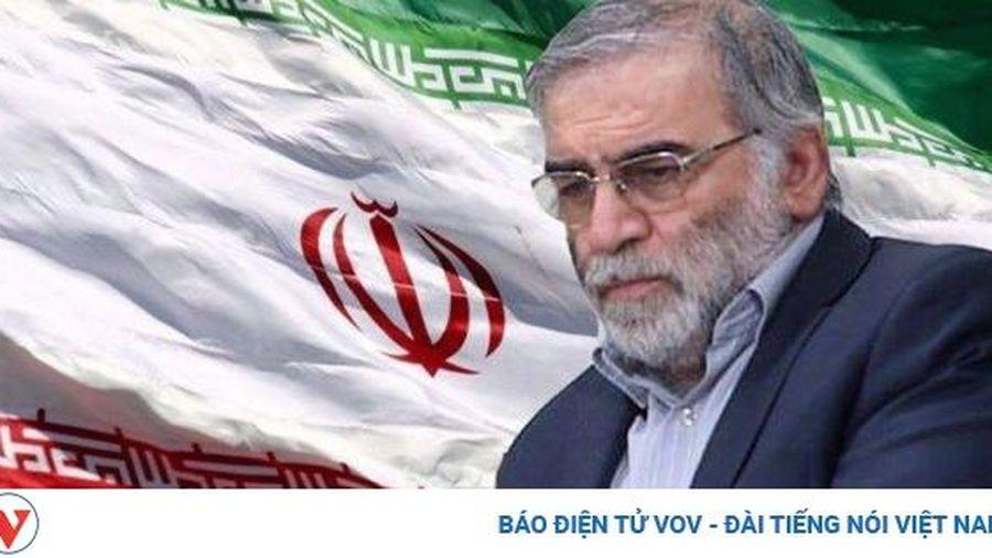 Iran sẽ 'trả thù thảm khốc' vụ ám sát khoa học Mohsen Fakhrizadeh