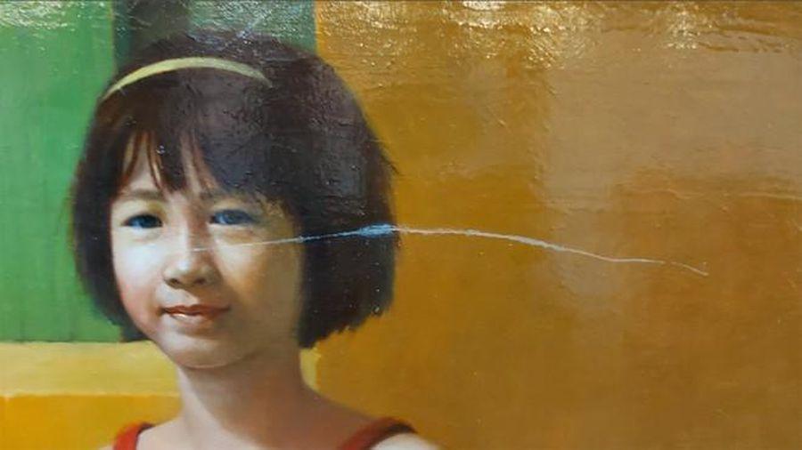 'Nóng' việc rạch xước tác phẩm tại triển lãm mỹ thuật Việt Nam 2020