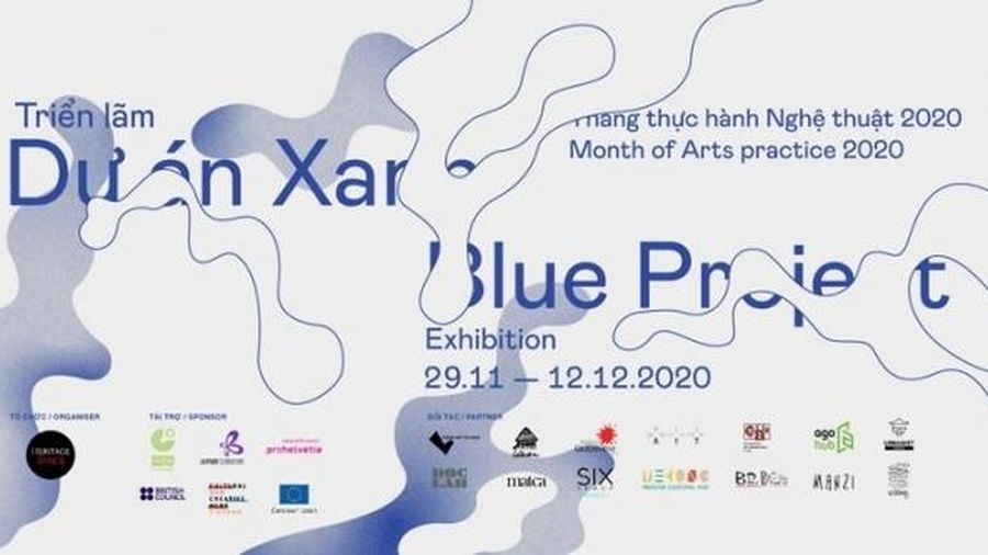 Triển lãm nghệ thuật đương đại mang tên 'dự án X A N H'