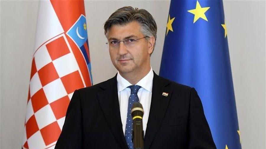 Thủ tướng Croatia Andrej Plenkovic dương tính với virus SARS-CoV-2