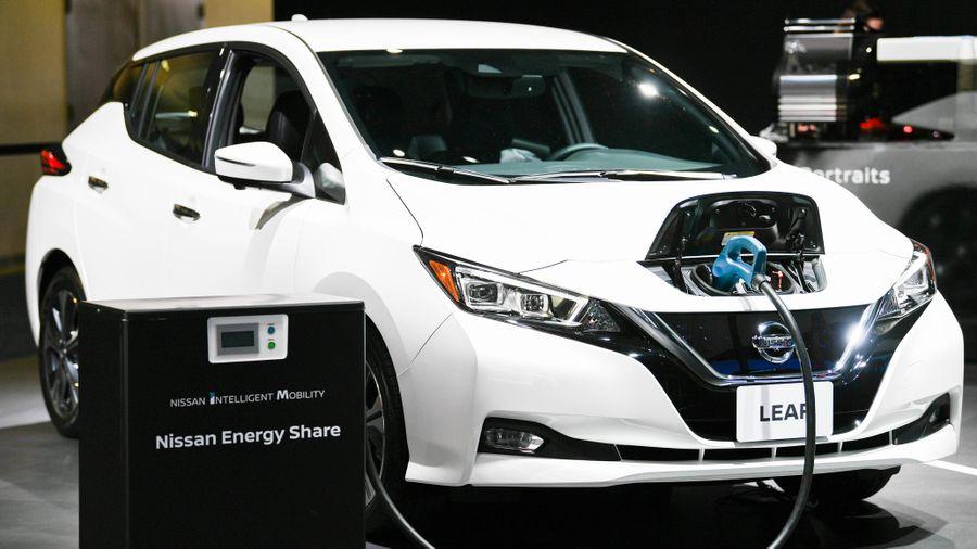 Nhật Bản mở rộng thị trường nội địa dành cho các loại xe ôtô điện