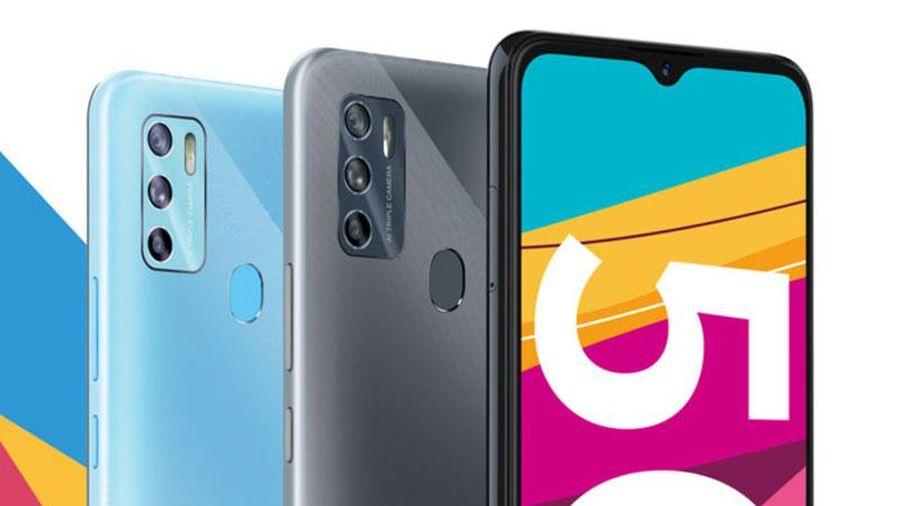 Smartphone 5 G, RAM 6 GB, pin 4.000 mAh, giá gần 6 triệu