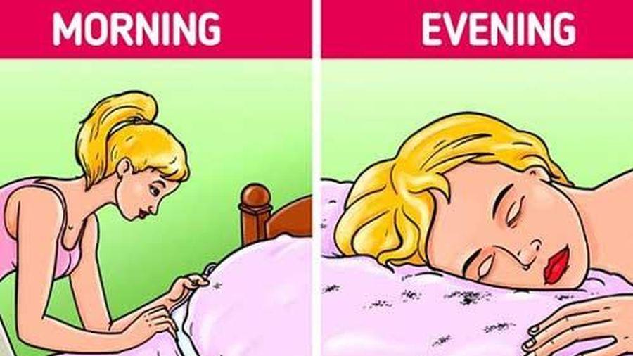 Tại sao không nên dọn giường ngay khi ngủ dậy?