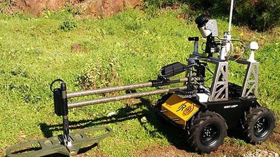 Hàn Quốc phát triển robot có khả năng phát hiện chất nổ ở khu vực phi quân sự