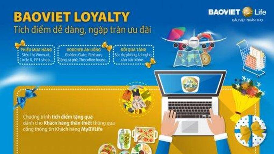 BaoViet LoyaltyTích điểm dễ dàng, ngập tràn ưu đãi