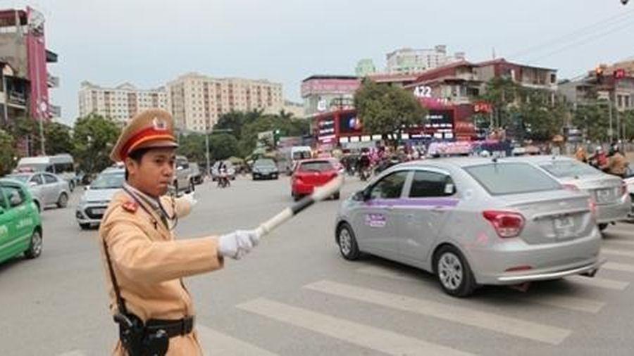 Phân luồng giao thông phục vụ Đại hội các dân tộc thiểu số Việt Nam