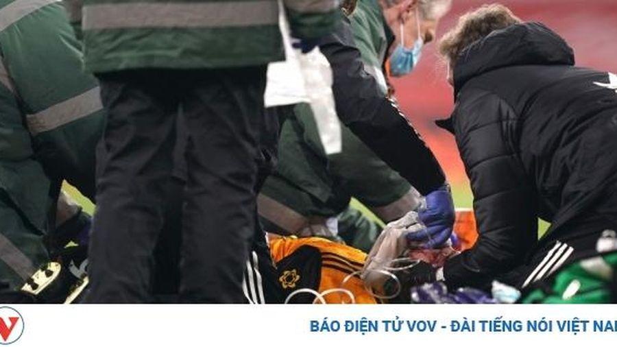 'Sao' Wolves nứt hộp sọ phải phẫu thuật khẩn cấp