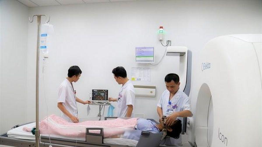 Tiến bộ trong xạ trị: Tỷ lệ kiểm soát bệnh, thời gian sống của bệnh nhân tăng lên