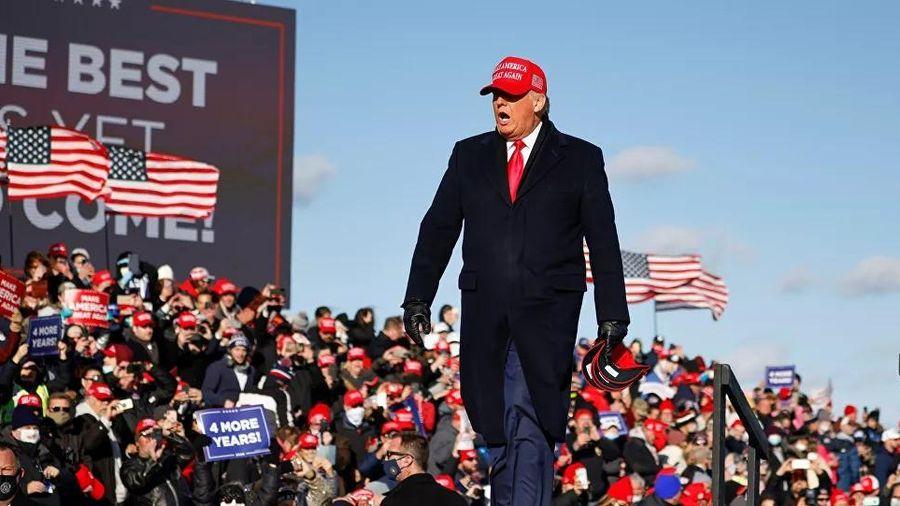 Tổng thống Mỹ Donald Trump: 'Hẹn gặp lại sau 4 năm nữa'
