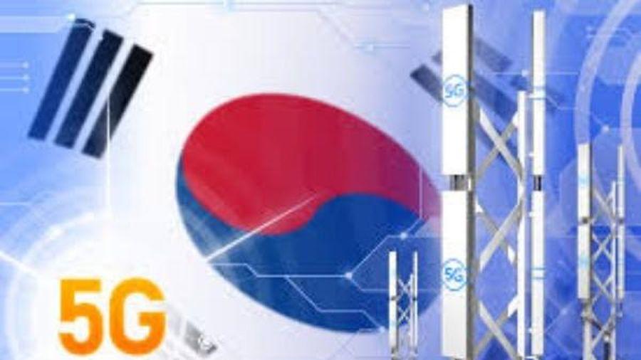 Hàn Quốc ghi nhận gần 10 triệu người dùng 5G vào tháng 10