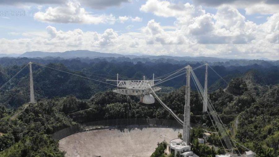 Kính viễn vọng vô tuyến lớn thứ 2 thế giới bị rơi