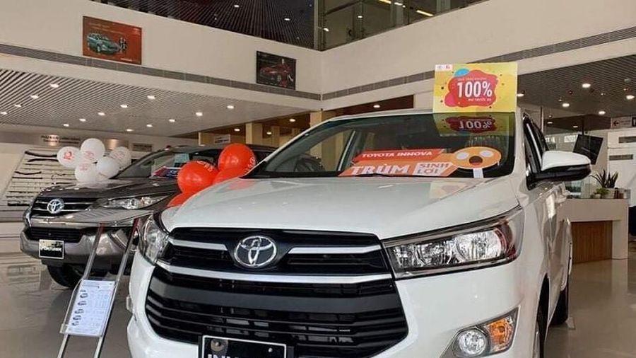 Bảng giá xe Toyota tháng 12: Rẻ nhất chỉ 352 triệu đồng