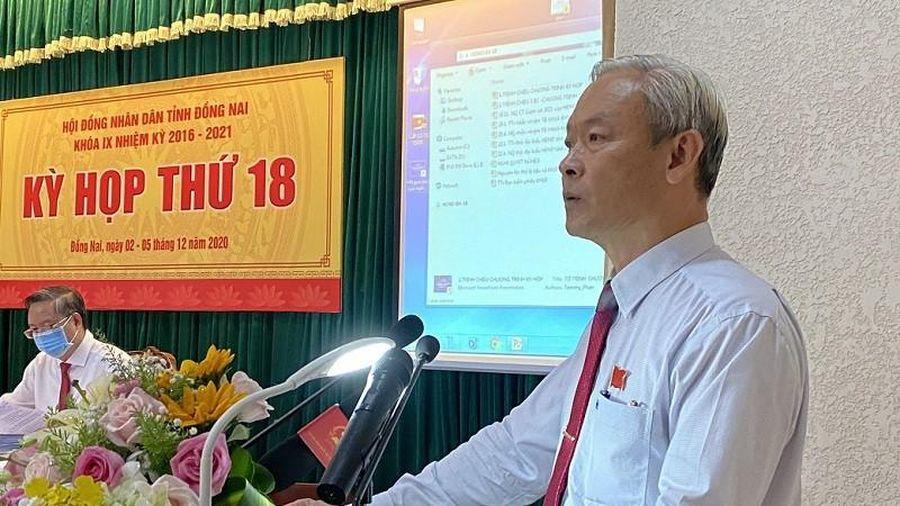 Đồng Nai: Khai mạc kỳ họp thứ 18 HĐND tỉnh khóa IX
