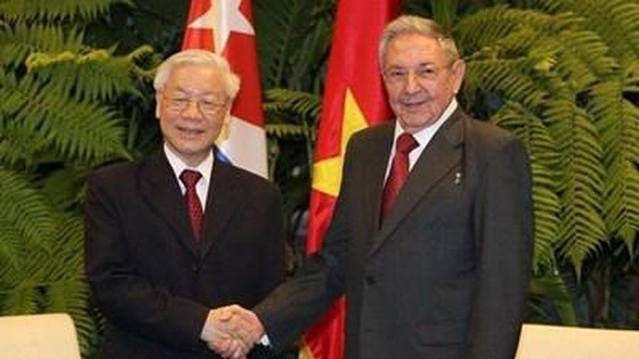 Điện mừng kỷ niệm 60 năm thiết lập quan hệ ngoại giao giữa hai nước CHXHCN Việt Nam và CH Cu-ba