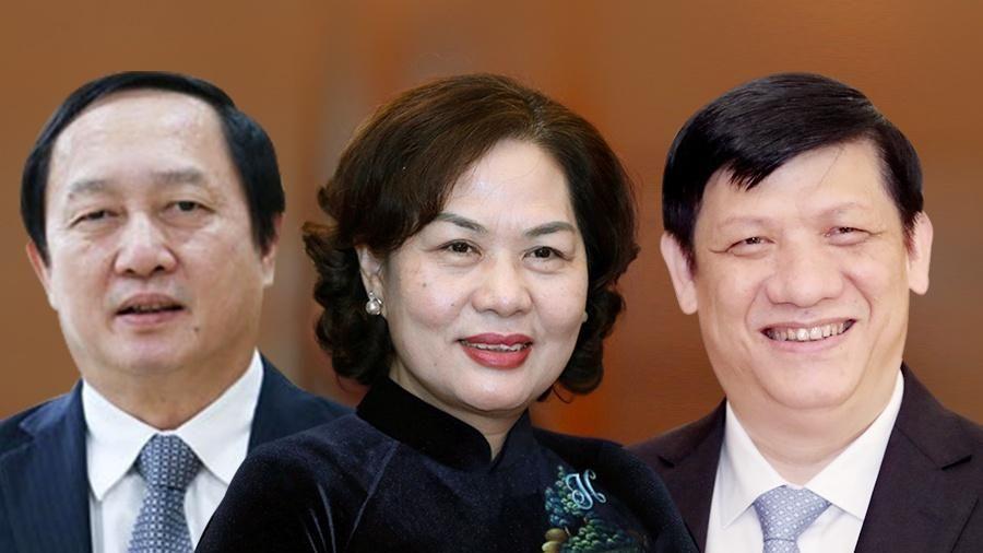 Chính phủ chúc mừng 3 'tư lệnh ngành' mới dự cuộc họp đầu tiên