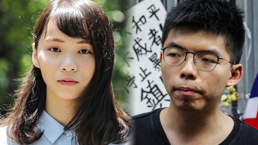 Joshua Wong và Agnes Chow bị tuyên án