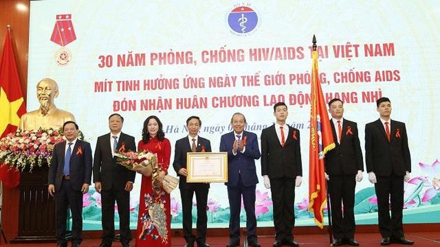 Việt Nam phấn đấu chấm dứt dịch AIDS vào năm 2030