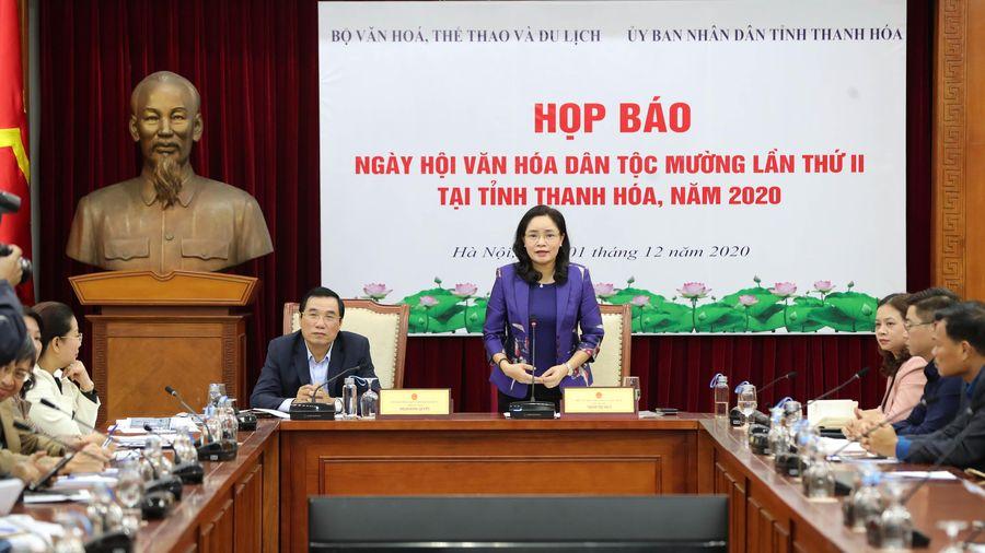 Sẵn sàng cho Ngày hội Văn hóa dân tộc Mường lần thứ II - năm 2020