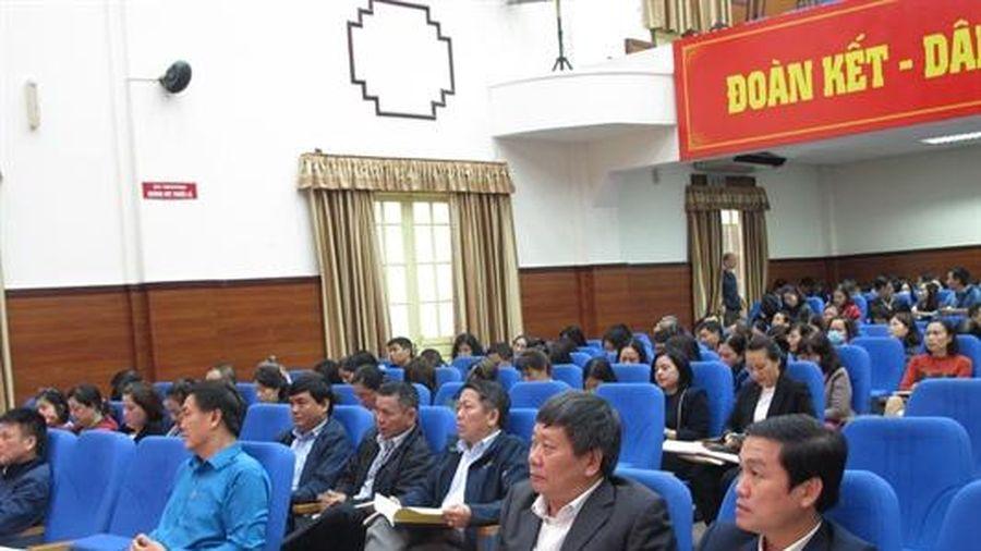 Tổ chức Hội nghị Tập huấn nghiệp vụ công tác công đoàn