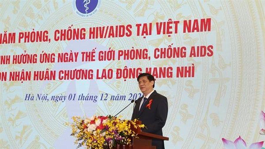 'Để HIV/AIDS không còn là nỗi quan ngại của cộng đồng'
