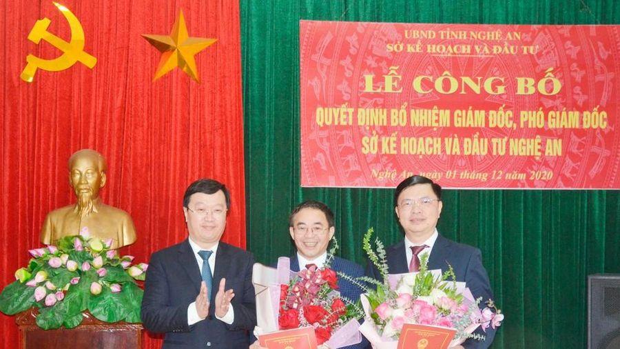 Bổ nhiệm lãnh đạo nhiều sở ngành của TPHCM, Nghệ An, Lai Châu
