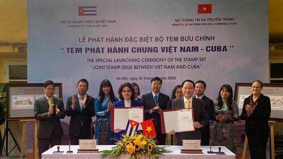 Việt Nam – Cuba phát hành chung bộ tem bưu chính