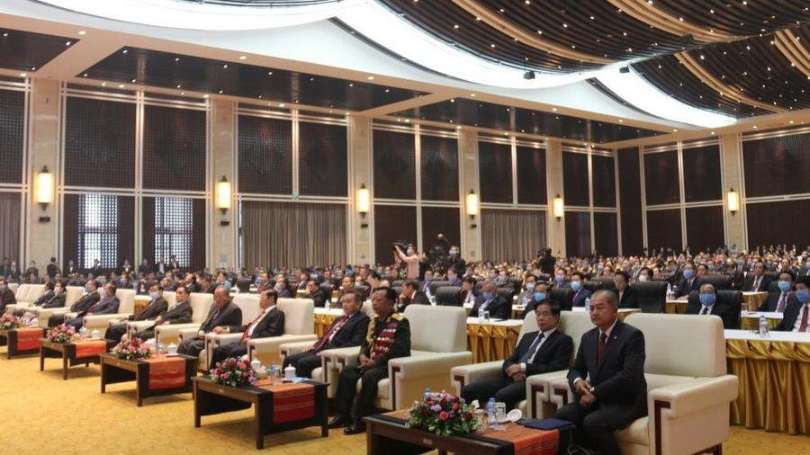 Mít-tinh kỷ niệm 45 năm Quốc khánh nước CHDCND Lào