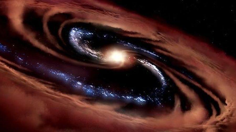 Sống sót dù bị lỗ đen nuốt, 'quái vật' sinh ra 100 'mặt trời' mỗi năm