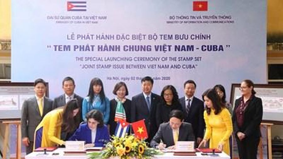 Phát hành đặc biệt bộ tem 'Tem phát hành chung Việt Nam – Cuba'