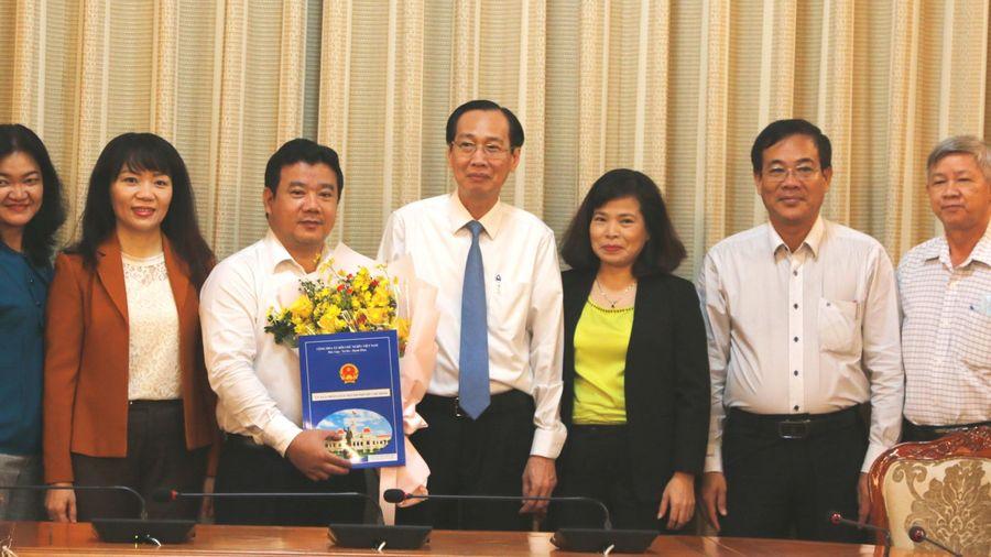Ông Nguyễn Trần Phú làm Phó Giám đốc Sở Tài chính TPHCM