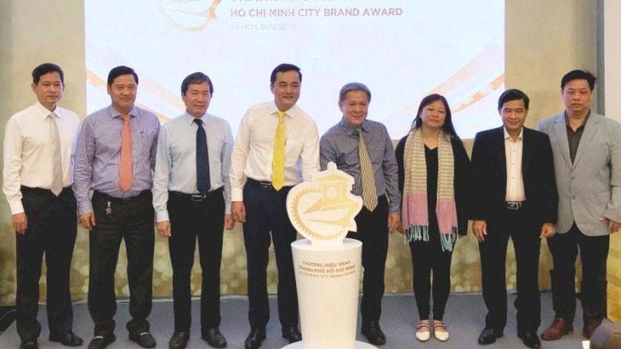 Công bố giải thưởng Thương hiệu vàng TPHCM