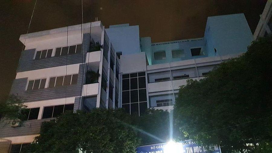 Thanh niên rơi từ tầng 6 trường Đại học Ngoại ngữ – Tin học tử vong