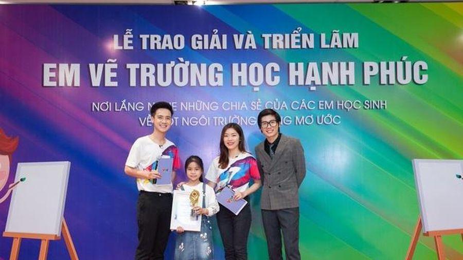 Học sinh Quảng Trị đạt nhiều giải cao cuộc thi 'Em vẽ trường học hạnh phúc'