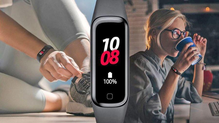 Galaxy Fit2 ra mắt: Pin 2 tuần, chống nước, giá khuyến mại 750 nghìn đồng