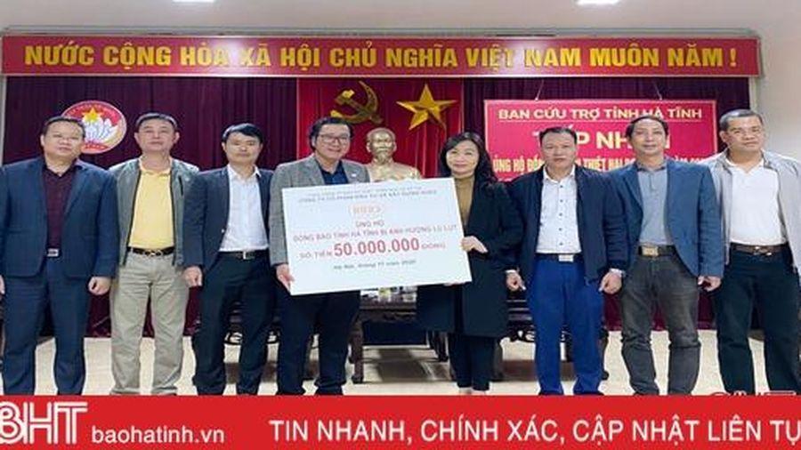 Hơn 231 tỷ đồng ủng hộ người dân Hà Tĩnh khắc phục hậu quả mưa lũ