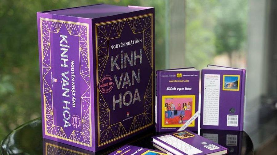 Nhà văn Nguyễn Nhật Ánh ra mắt bộ sách Kính vạn hoa theo bản in đầu tiên