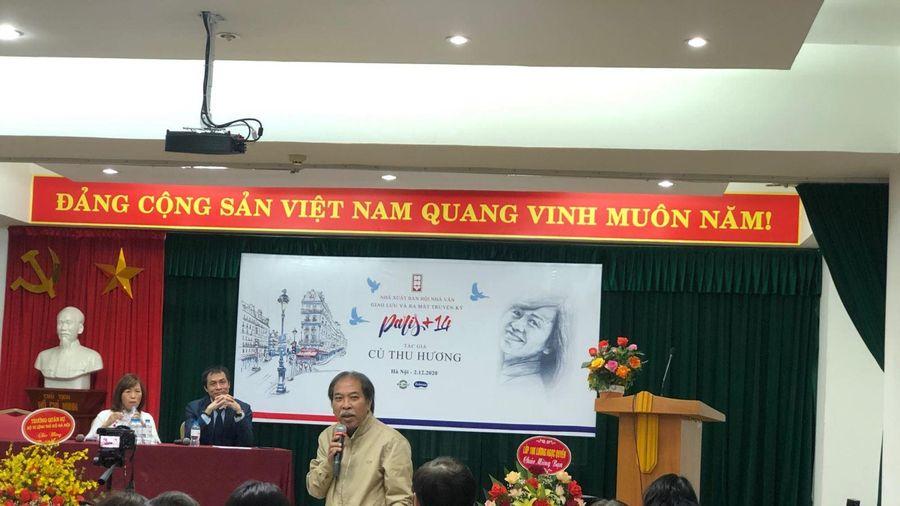 Giao lưu và ra mắt cuốn Truyện ký 'Paris+14' của tác giả Cù Thu Hương