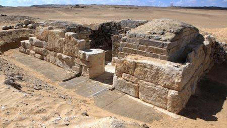 Phát hiện cổ mộ của bà hoàng vô danh ở Ai Cập