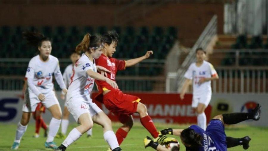 Trận thắng chấm dứt 'hiện tượng lạ' tại giải bóng đá nữ quốc gia