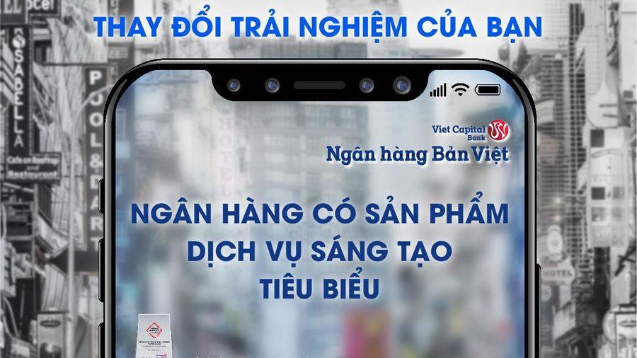 Ngân hàng Bản Việt được vinh danh ngân hàng có sản phẩm dịch vụ sáng tạo tiêu biểu 2020