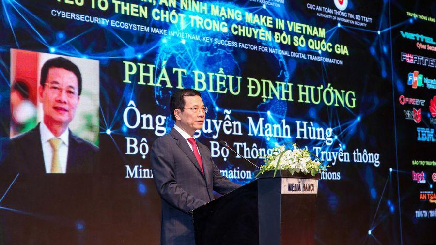 Bộ trưởng Nguyễn Mạnh Hùng: Phải có cách tiếp cận mới để phổ cập an toàn an ninh mạng