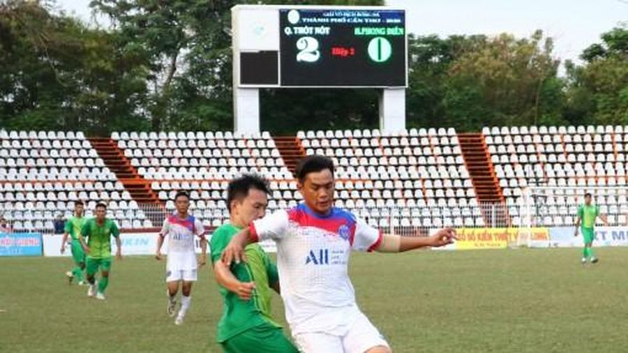 Thốt Nốt quán quân Giải vô địch Bóng đá truyền thống TP Cần Thơ năm 2020