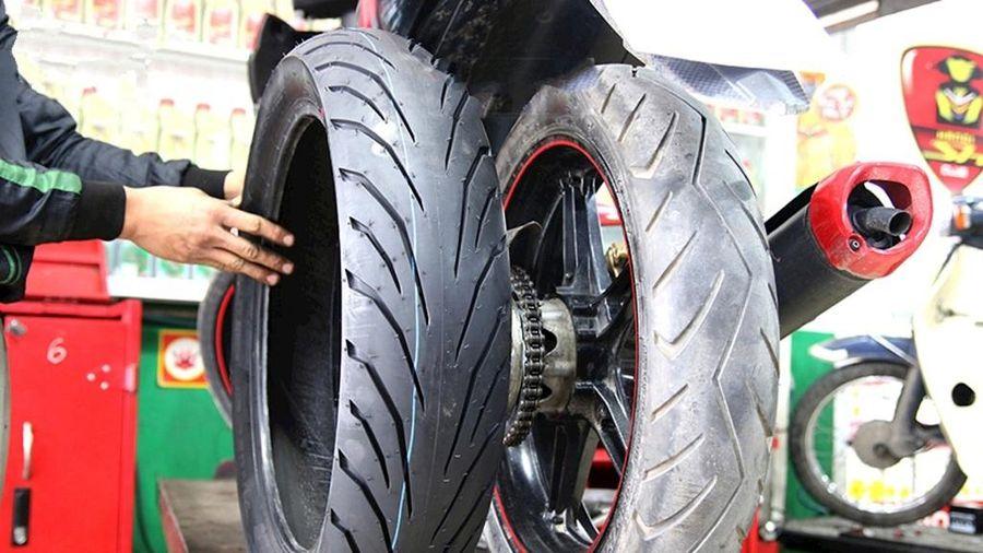 Khi nào cần phải thay mới lốp xe máy để đảm bảo an toàn?