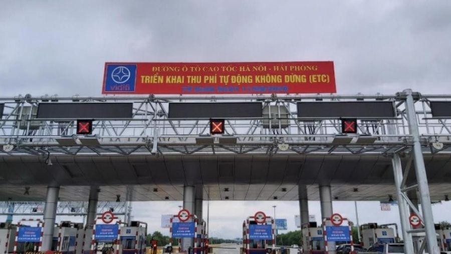 Đến 31/12 vẫn chưa thể thu phí không dừng tại 4 cao tốc của VEC