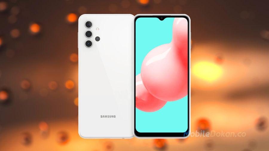 Galaxy A32 5G lộ ảnh render - Cụm camera sau vô cùng độc đáo
