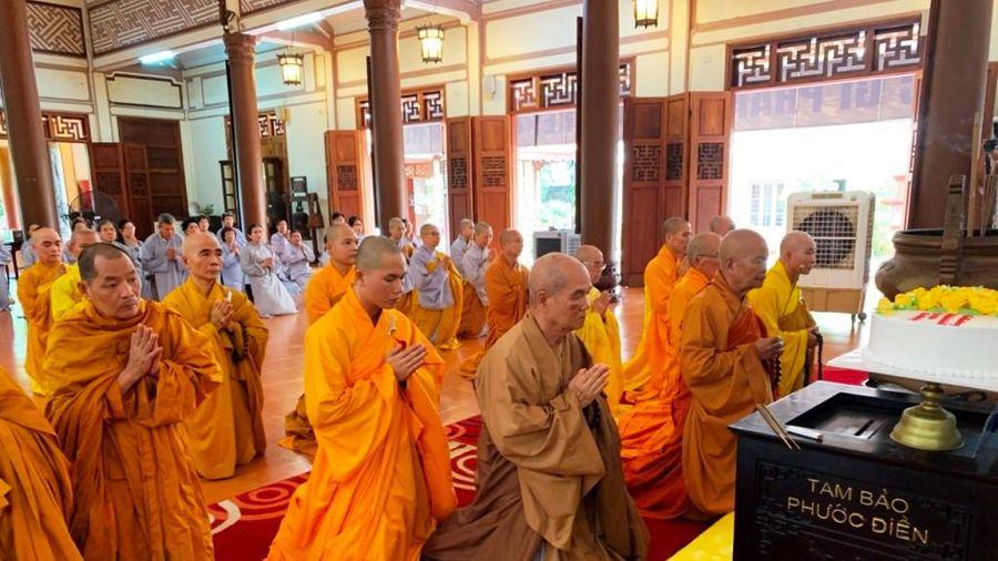 Khánh Hòa : Tưởng niệm Trưởng lão HT.Thích Thiện Bình